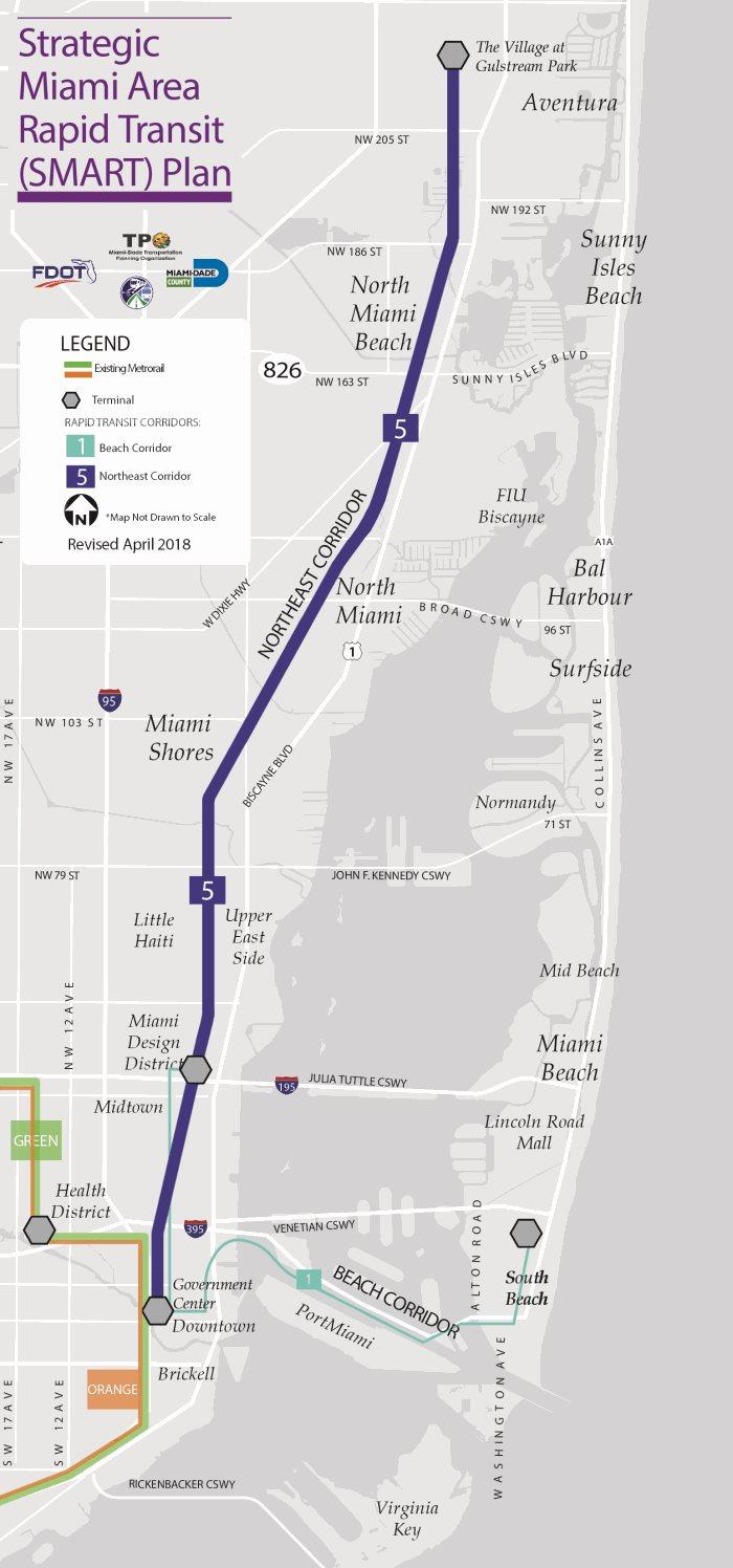 5 - northeast corridor - miami dda